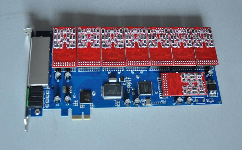 YD-TDM1600E PCI-E asterisk card